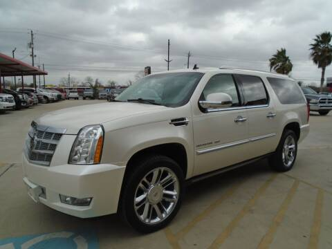 2012 Cadillac Escalade ESV for sale at Premier Foreign Domestic Cars in Houston TX