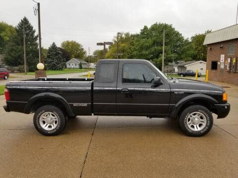 2003 Ford Ranger for sale at RIVERSIDE AUTO SALES in Sioux City IA
