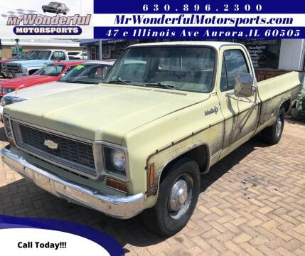 1974 Chevrolet C/K 20 Series for sale at Mr Wonderful Motorsports in Aurora IL