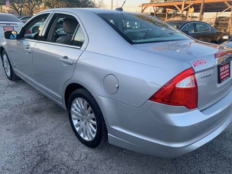 2010 Ford Fusion Hybrid for sale at FAIR DEAL AUTO SALES INC in Houston TX