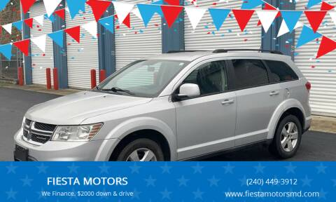 2012 Dodge Journey for sale at FIESTA MOTORS in Hagerstown MD