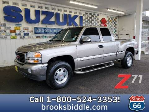 2001 GMC Sierra 1500 for sale at BROOKS BIDDLE AUTOMOTIVE in Bothell WA
