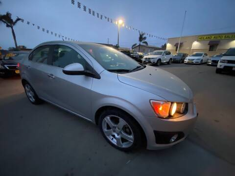 2014 Chevrolet Sonic for sale at HEILAND AUTO SALES in Oceano CA