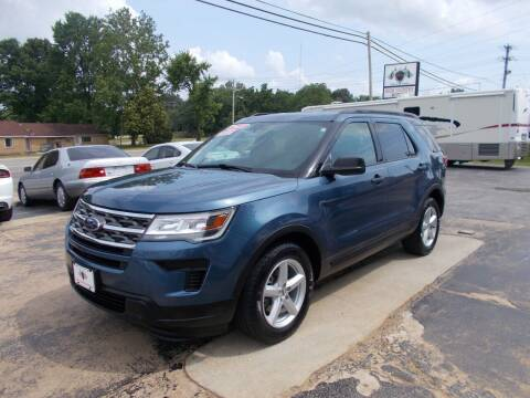 2018 Ford Explorer for sale at High Country Motors in Mountain Home AR