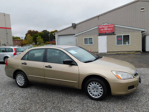 2006 Honda Accord for sale at Macrocar Sales Inc in Akron OH