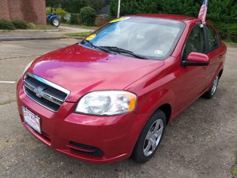 2011 Chevrolet Aveo for sale at Hilton Motors Inc. in Newport News VA