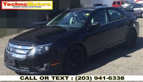 2010 Ford Fusion for sale at Techno Motors in Danbury CT