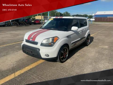 2010 Kia Soul for sale at Wheelstone Auto Sales in La Porte TX