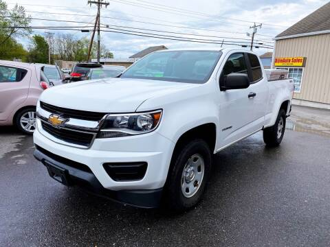 2015 Chevrolet Colorado for sale at Dijie Auto Sale and Service Co. in Johnston RI