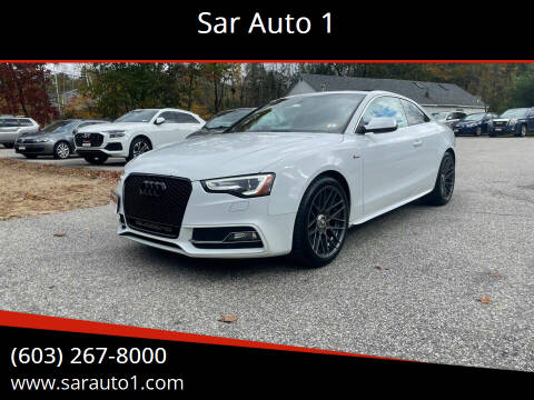 2014 Audi S5 for sale at Sar Auto 1 in Belmont NH