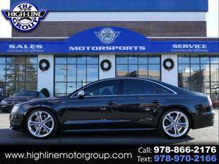 2014 Audi S8 for sale at Highline Group Motorsports in Lowell MA