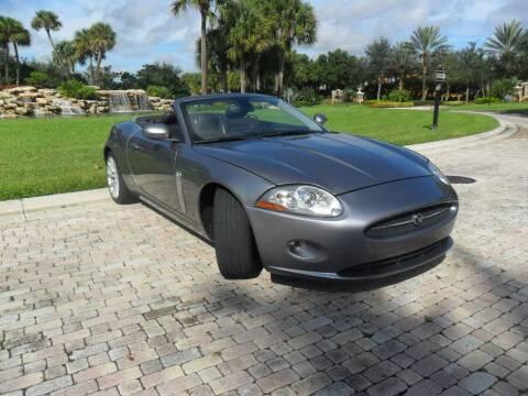 2007 Jaguar XK-Series for sale at AUTO HOUSE FLORIDA in Pompano Beach FL