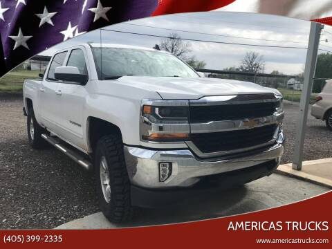 2018 Chevrolet Silverado 1500 for sale at Americas Trucks in Jones OK