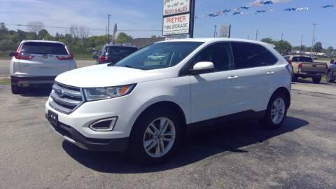 2015 Ford Edge for sale at Premier Auto Sales Inc. in Big Rapids MI