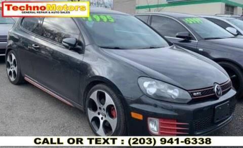 2011 Volkswagen GTI for sale at Techno Motors in Danbury CT