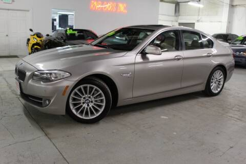 2011 BMW 5 Series for sale at R n B Cars Inc. in Denver CO