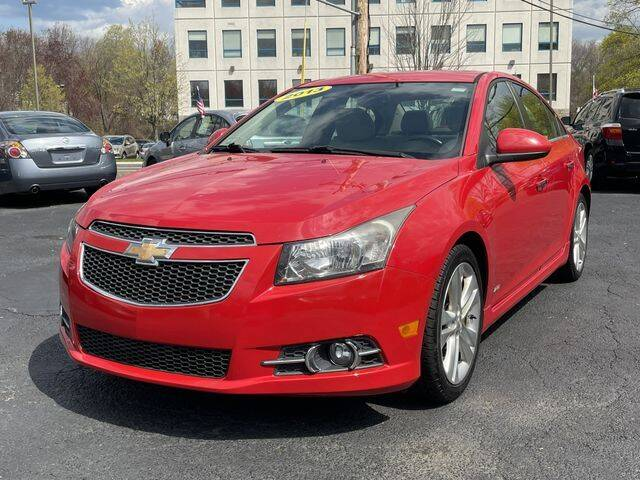 2013 Chevrolet Cruze for sale at All Star Auto  Cycle in Marlborough MA