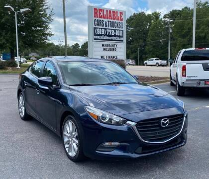2017 Mazda MAZDA3 for sale at Reliable Cars & Trucks LLC in Raleigh NC