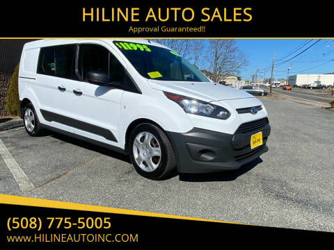 2015 Ford Transit Connect Cargo for sale at HILINE AUTO SALES in Hyannis MA