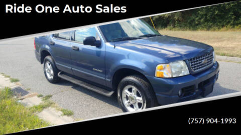 2004 Ford Explorer for sale at Ride One Auto Sales in Norfolk VA