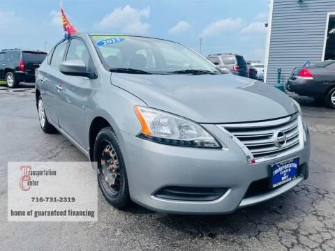 2013 Nissan Sentra for sale at Transportation Center Of Western New York in Niagara Falls NY