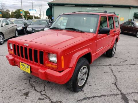 1999 Jeep Cherokee for sale at ASHLAND AUTO SALES in Columbia MO