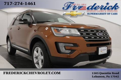 2017 Ford Explorer for sale at Lancaster Pre-Owned in Lancaster PA