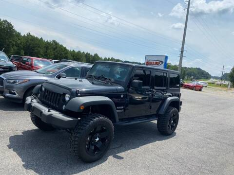 2015 Jeep Wrangler Unlimited for sale at Billy Ballew Motorsports in Dawsonville GA