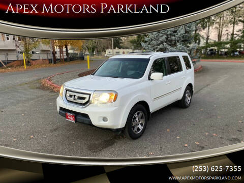 2010 Honda Pilot for sale at Apex Motors Parkland in Tacoma WA
