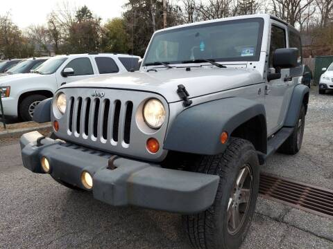 2008 Jeep Wrangler for sale at AMA Auto Sales LLC in Ringwood NJ