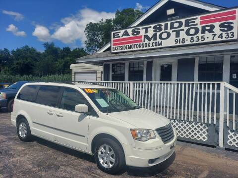 2010 Chrysler Town and Country for sale at EASTSIDE MOTORS in Tulsa OK