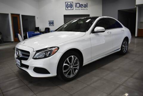 2015 Mercedes-Benz C-Class for sale at iDeal Auto Imports in Eden Prairie MN