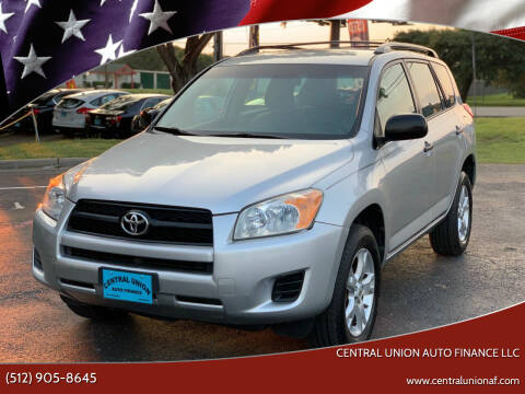 2009 Toyota RAV4 for sale at Central Union Auto Finance LLC in Austin TX