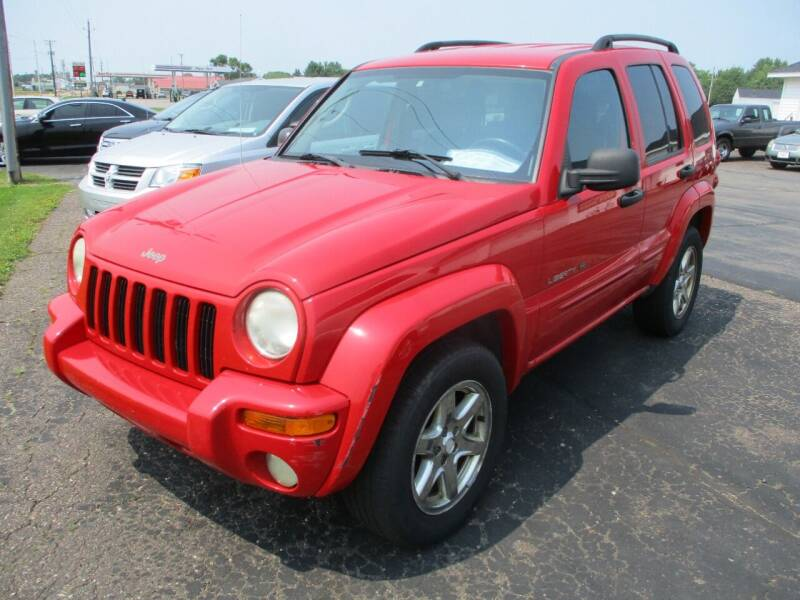 2003 Jeep Liberty for sale at KAISER AUTO SALES in Spencer WI