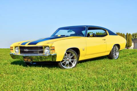 1971 Chevrolet Chevelle for sale at Hooked On Classics in Watertown MN