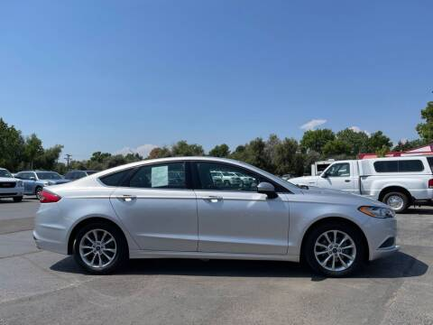 2017 Ford Fusion for sale at Sprinkler Used Cars in Longmont CO