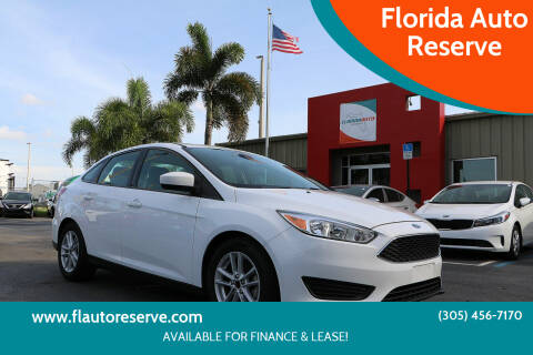 2018 Ford Focus for sale at Florida Auto Reserve in Medley FL