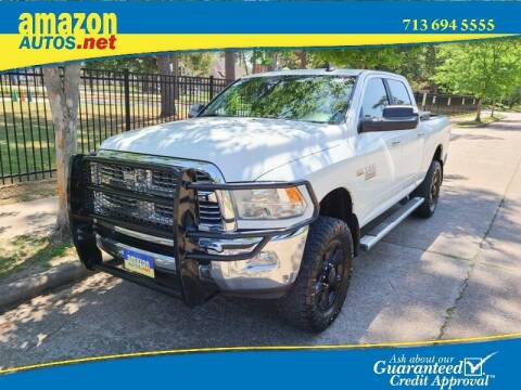 2014 RAM Ram Pickup 2500 for sale at Amazon Autos in Houston TX