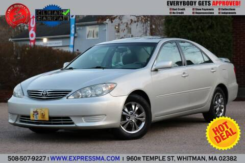 2005 Toyota Camry for sale at Auto Sales Express in Whitman MA
