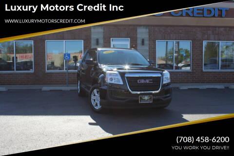 2016 GMC Terrain for sale at Luxury Motors Credit Inc in Bridgeview IL