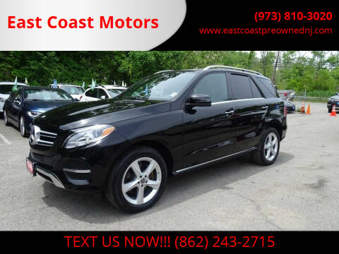 2018 Mercedes-Benz GLE for sale at East Coast Motors in Lake Hopatcong NJ