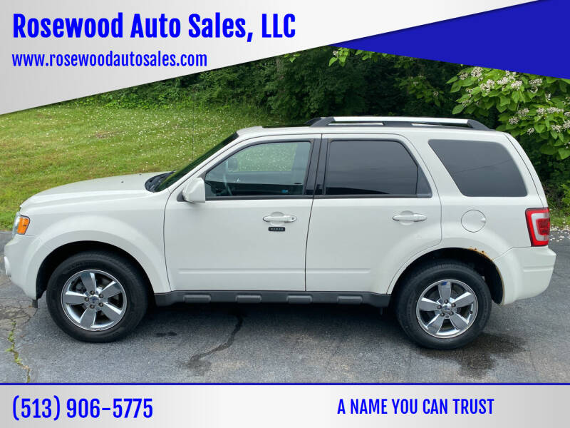 2012 Ford Escape for sale at Rosewood Auto Sales, LLC in Hamilton OH