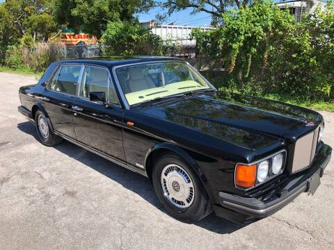 1990 Bentley Turbo R for sale at Prestigious Euro Cars in Fort Lauderdale FL