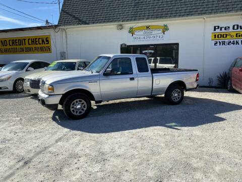 2010 Ford Ranger for sale at Klett Automotive Group in Saint Augustine FL