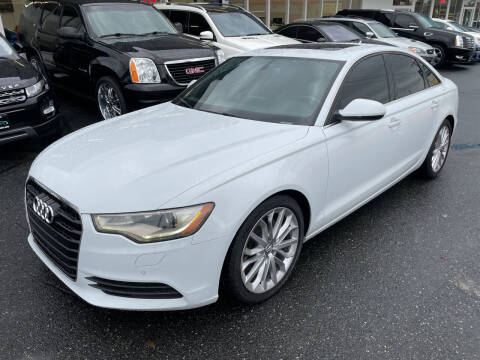 2013 Audi A6 for sale at APX Auto Brokers in Edmonds WA