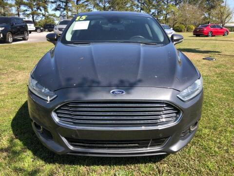 2015 Ford Fusion for sale at Greenville Motor Company in Greenville NC