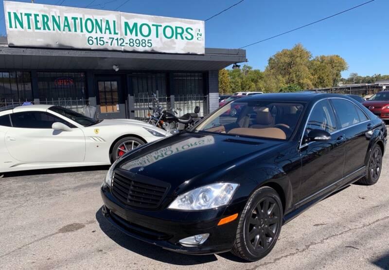 2007 Mercedes-Benz S-Class for sale at International Motors Inc. in Nashville TN