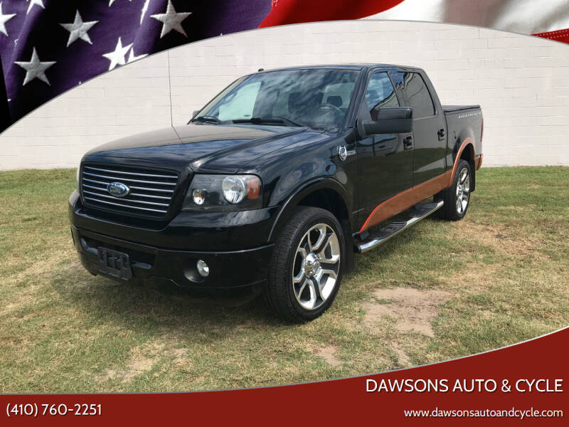 2008 Ford F-150 for sale at Dawsons Auto & Cycle in Glen Burnie MD