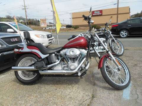 2007 Harley Soft Tail Wide Glide for sale at Mountain Auto in Jackson CA