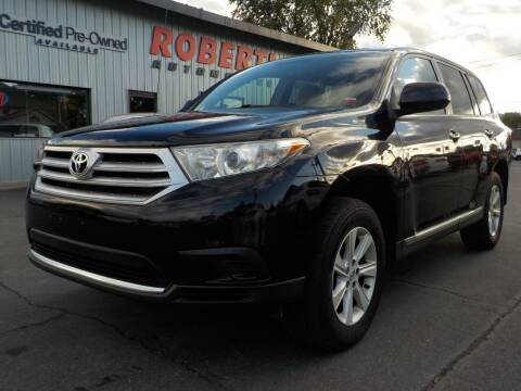 2012 Toyota Highlander for sale at Roberti Automotive in Kingston NY